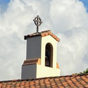 Bell tower clouds
