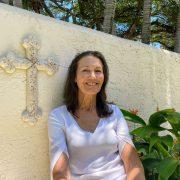 Joanne Cameron garden cross