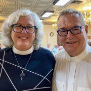 Rev. Cori and Fr. Chuck