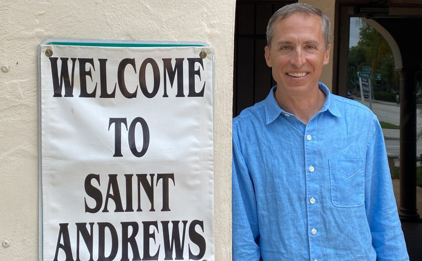 Faces of St. Andrew's – Finding His Way At St. Andrew's